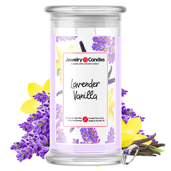 Lavender Vanilla Jewelry Candle