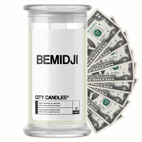 Bemidji City Cash Candle