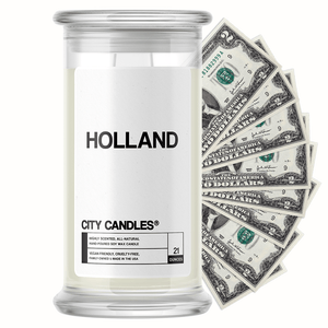 Holland City Cash Candle