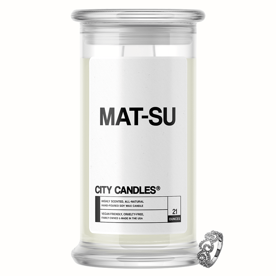 Mat-Su City Jewelry Candle