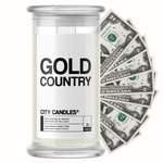 Gold Country City Cash Candle