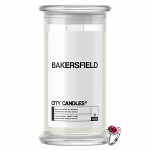 Bakersfield City Jewelry Candle