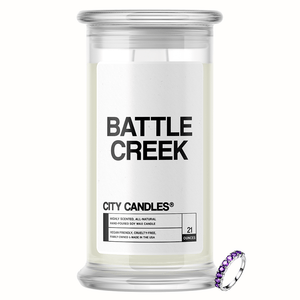 Battle Creek City Jewelry Candle