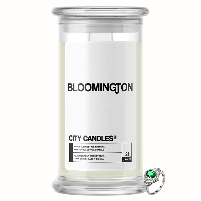 Bloomington City Jewelry Candle