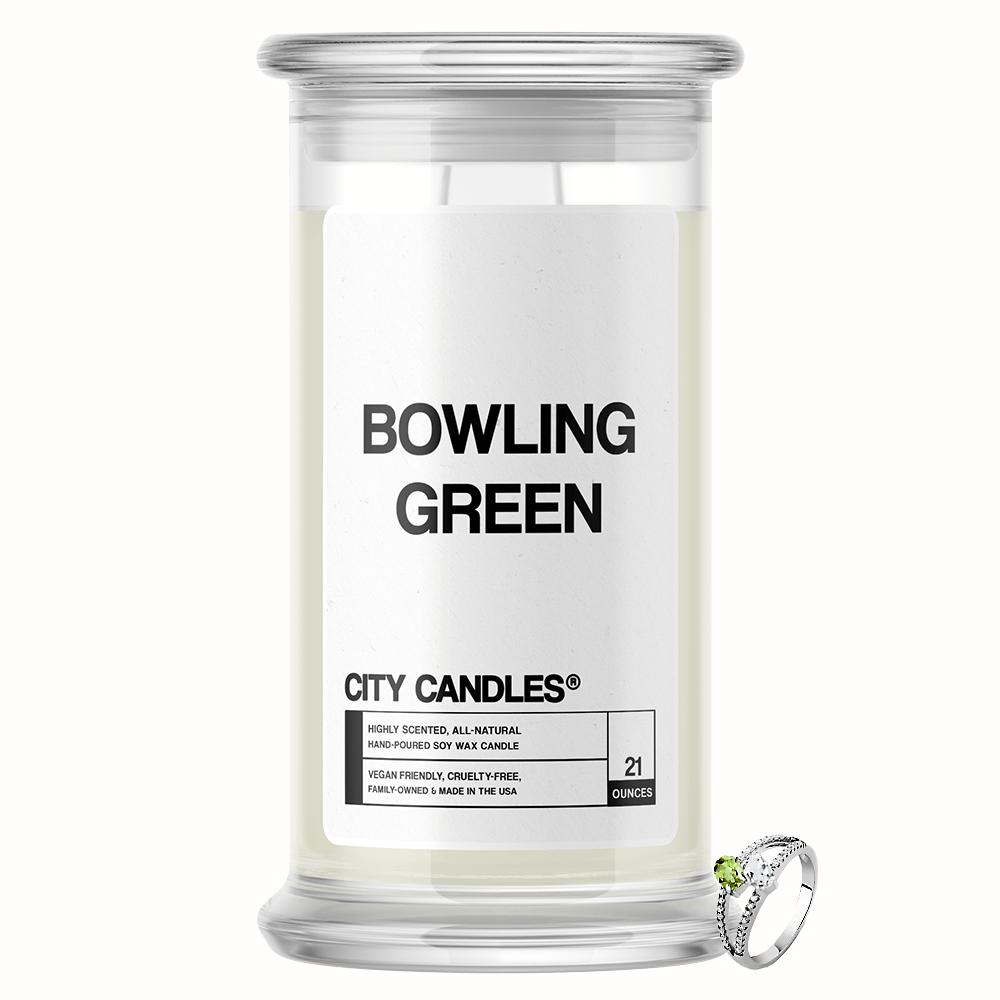 Bowling Green City Jewelry Candle