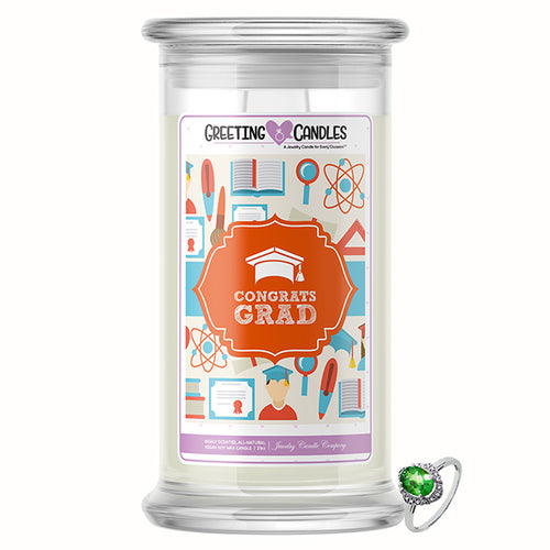 Congratulations Graduate | Jewelry Greeting Candle