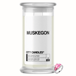 Muskegon City Jewelry Candle