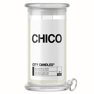 Chico City Jewelry Candle