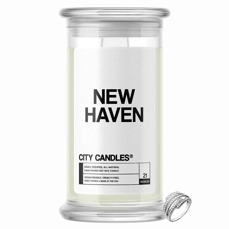 New Haven City Jewelry Candle