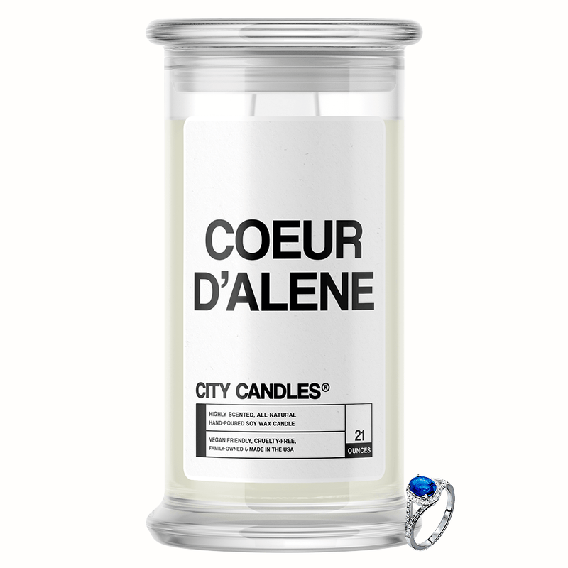 Coeur d'Alene City Jewelry Candle