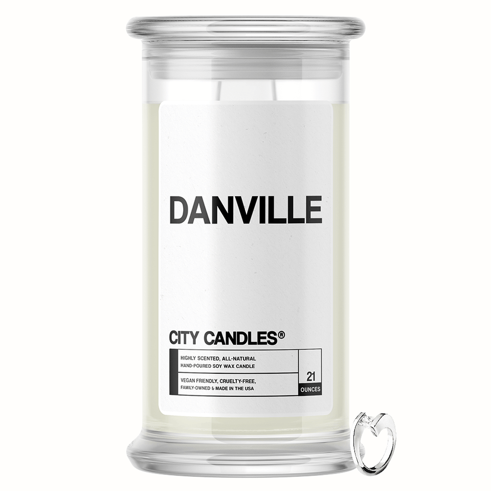 Danville City Jewelry Candle