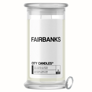 Fairbanks City Jewelry Candle