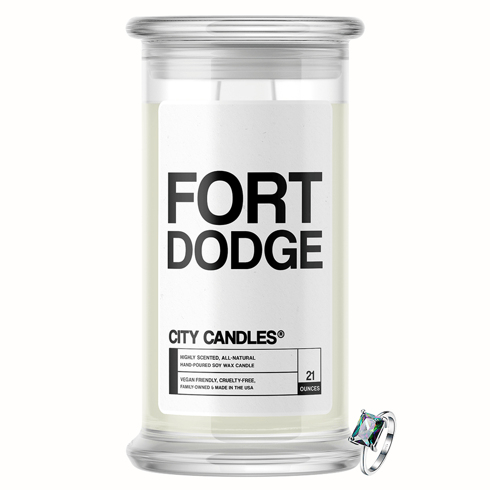 Fort Dodge City Jewelry Candle