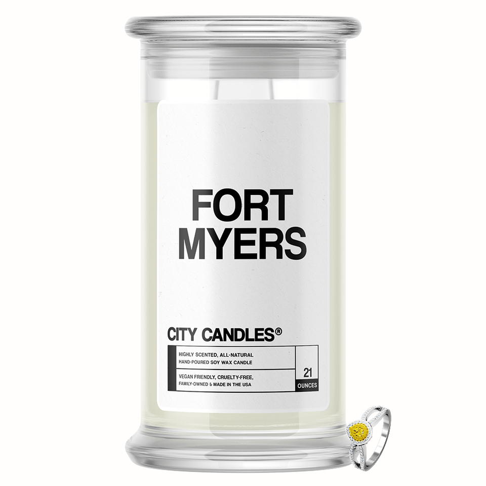 Fort Myers City Jewelry Candle