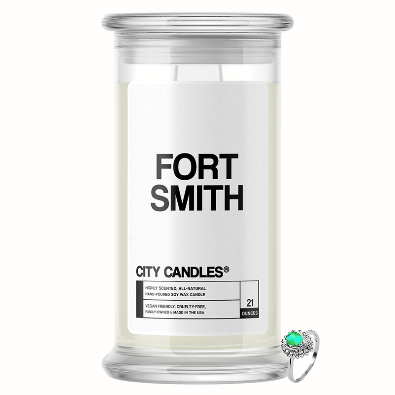 Fort Smith City Jewelry Candle