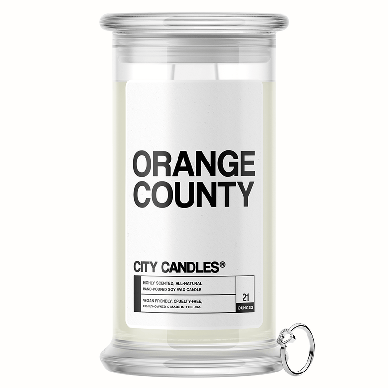 Orange County City Jewelry Candle