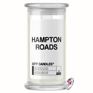 Hampton Roads City Jewelry Candle