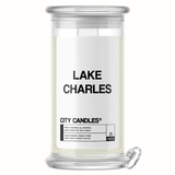 Lake Charles City Jewelry Candle