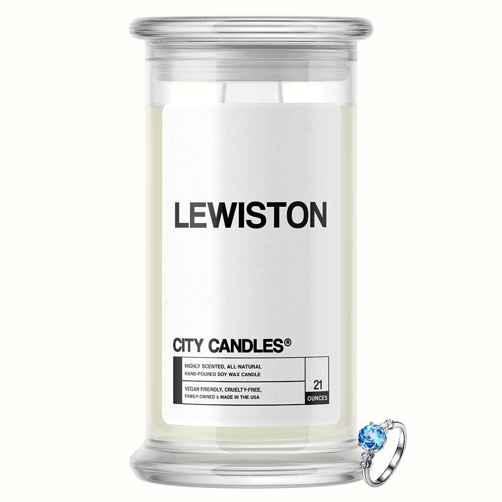Lewiston City Jewelry Candle