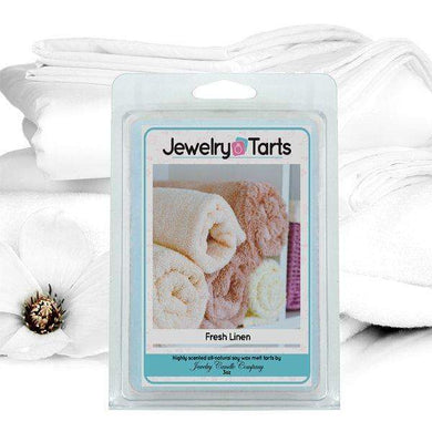 Fresh Linen | Jewelry Tart®-Fresh Cut Grass Jewelry Tarts-The Official Website of Jewelry Candles - Find Jewelry In Candles!