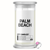 Palm Beach City Jewelry Candle