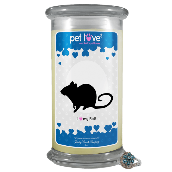 I Love My Rat! | Pet Love Candle®-Pet Love®-The Official Website of Jewelry Candles - Find Jewelry In Candles!