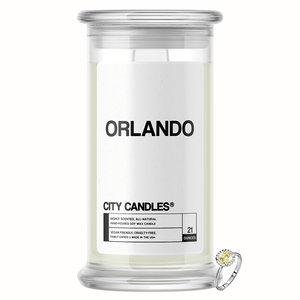 Orlando City Jewelry Candle