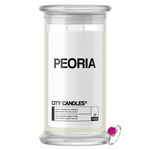 Peoria City Jewelry Candle