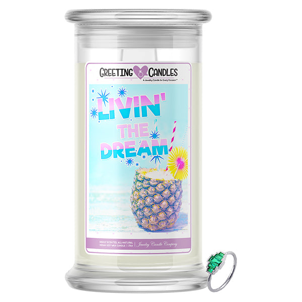 Livin' The Dream | Jewelry Greeting Candle