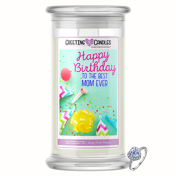 Congratulations, It's a Boy! Jewelry Greeting Candle