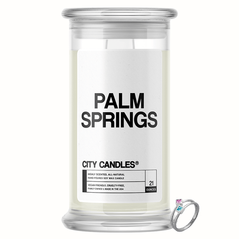 Palm Springs City Jewelry Candle