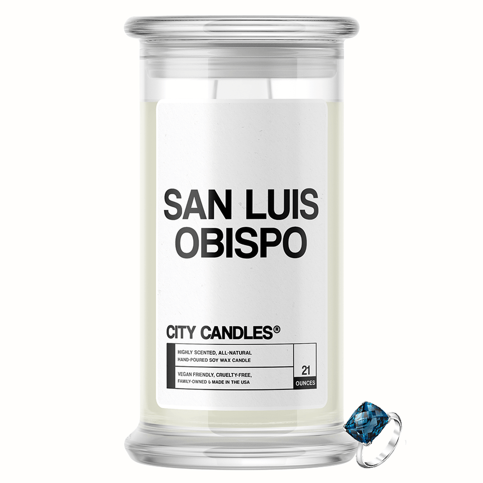 San Luis Obispo City Jewelry Candle