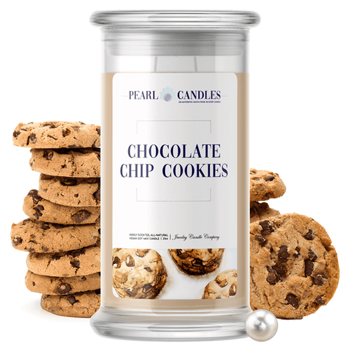 Chocolate Chip Cookies | Pearl Candle®-Pearl Candles®-The Official Website of Jewelry Candles - Find Jewelry In Candles!