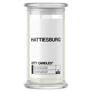 Hattiesburg City Candle