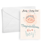 Congratulations, It's A Boy! | Jewelry Greeting Cards®-Jewelry Greeting Cards-The Official Website of Jewelry Candles - Find Jewelry In Candles!