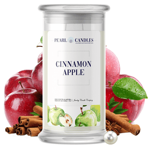 Cinnamon Apple | Pearl Candle®-Pearl Candles®-The Official Website of Jewelry Candles - Find Jewelry In Candles!