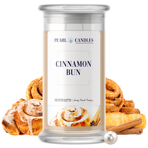 Cinnamon Bun | Pearl Candle®-Pearl Candles®-The Official Website of Jewelry Candles - Find Jewelry In Candles!