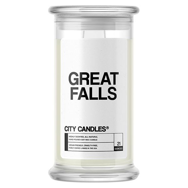 Great Falls City Candle