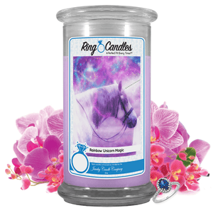 Rainbow Unicorn Magic | Ring Candle®-Ring Candles®-The Official Website of Jewelry Candles - Find Jewelry In Candles!