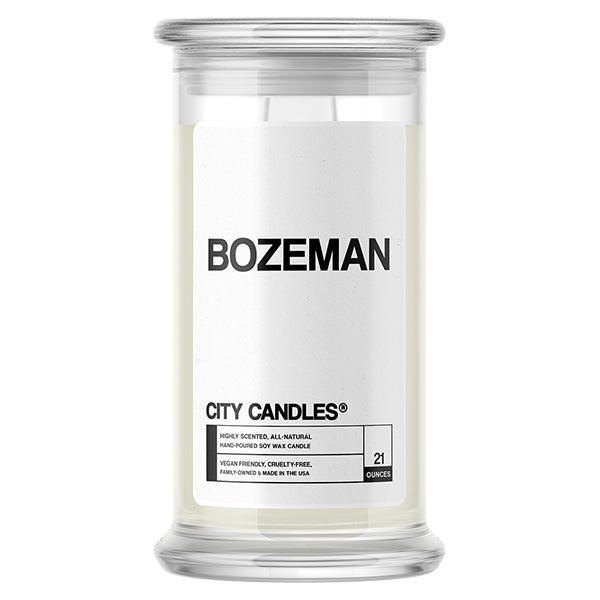 Bozeman City Candle