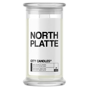 North Platte City Candle