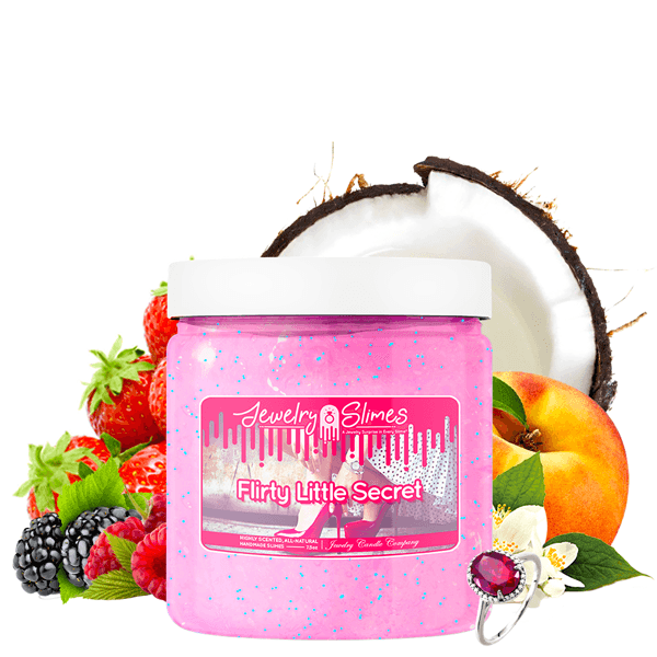 Flirty Little Secret | Jewelry Slime®-Jewelry Slime | A Jewelry Surprise In Every Jar of Slime-The Official Website of Jewelry Candles - Find Jewelry In Candles!