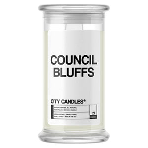 Council Bluffs City Candle