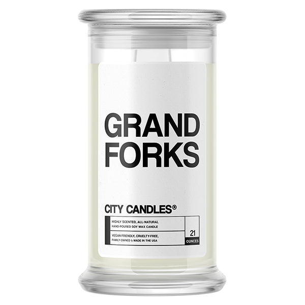 Grand Forks City Candle