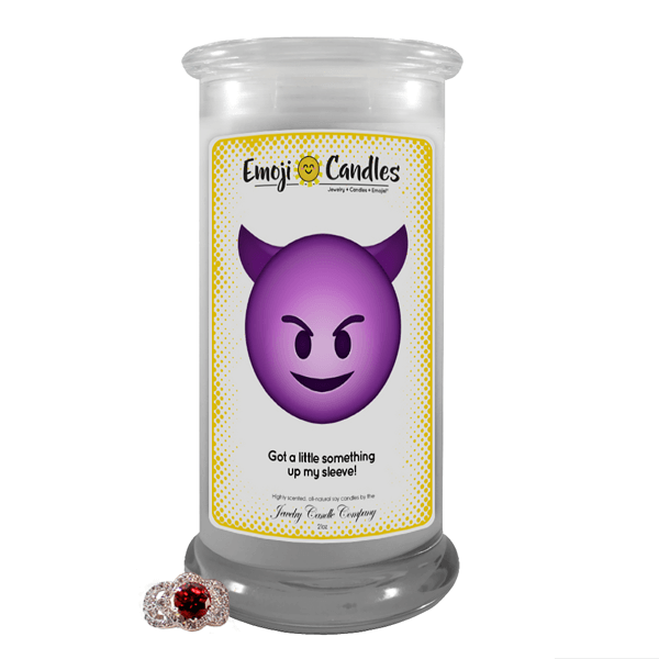 Got A Little Something Up My Sleeve! | Emoji Candle®-Emoji Candles-The Official Website of Jewelry Candles - Find Jewelry In Candles!