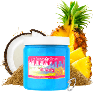 Tiki Party | Jewelry Slime®-Jewelry Slime | A Jewelry Surprise In Every Jar of Slime-The Official Website of Jewelry Candles - Find Jewelry In Candles!