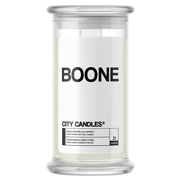 Boone City Candle