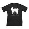 I Love My Japanese Bobtail | Must Love Cats® White On Black Short Sleeve T-Shirt-Must Love Cats® T-Shirts-The Official Website of Jewelry Candles - Find Jewelry In Candles!