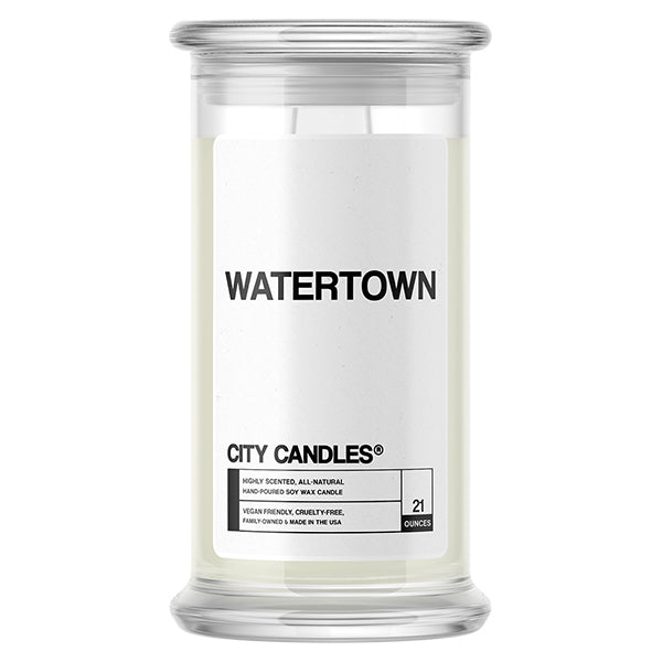Watertown City Candle