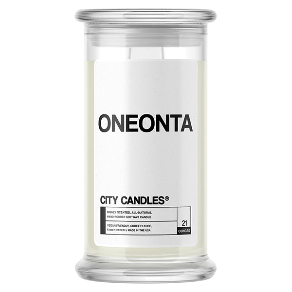 Oneonta City Candle